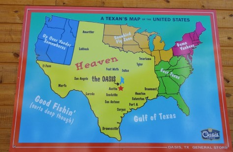 Texan's view of the US