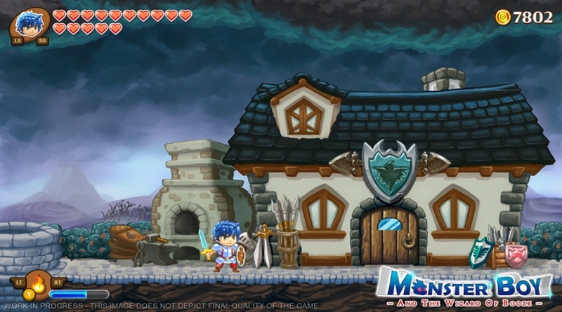 Monster Boy & The Cursed Kingdom Announced For Nintendo Switch