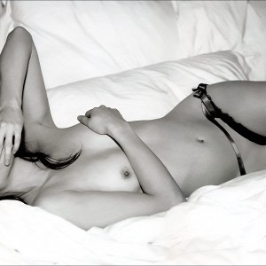 Lucy Liu Topless Nipple Slip   Michel Comte 2002 Get more nipple slips at Nipple Slips org