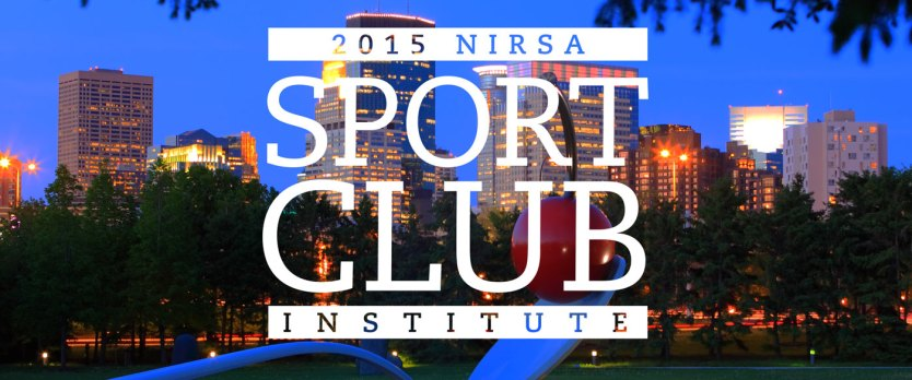 2015 NIRSA Sport Club Institute