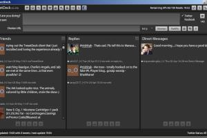 The TweetDeck Client Interface