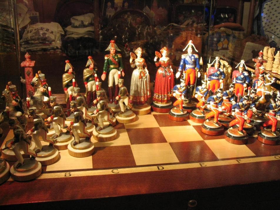 Chess set from the 1700s I think