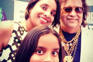 With Bappi Lahiri