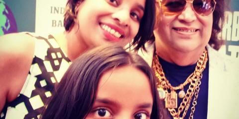 With Bappi Lahiri