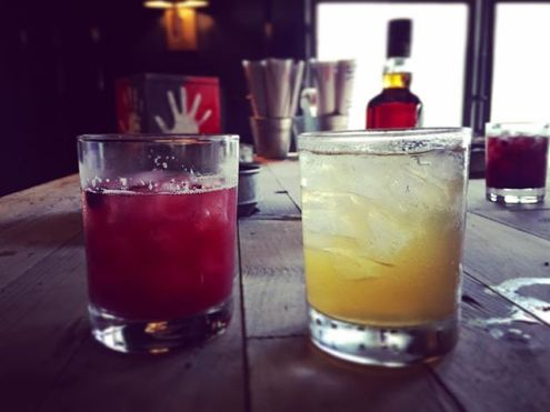 Two fruity mixes