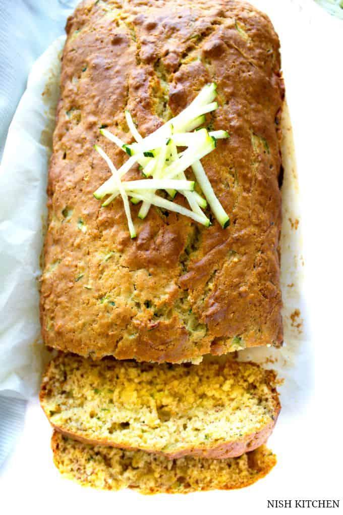 Zucchini Banana Bread | Nish Kitchen
