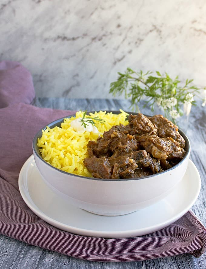 slow cooker lamb curry recipe with video