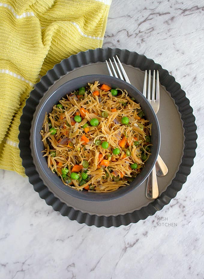 vermicelli upma with video