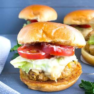 chickpea burgers recipe with video