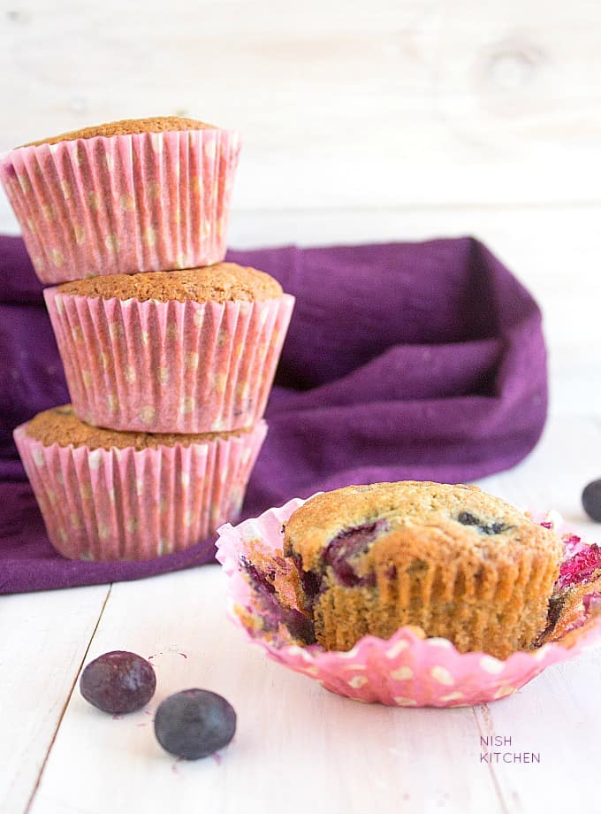blueberry muffins recipe video