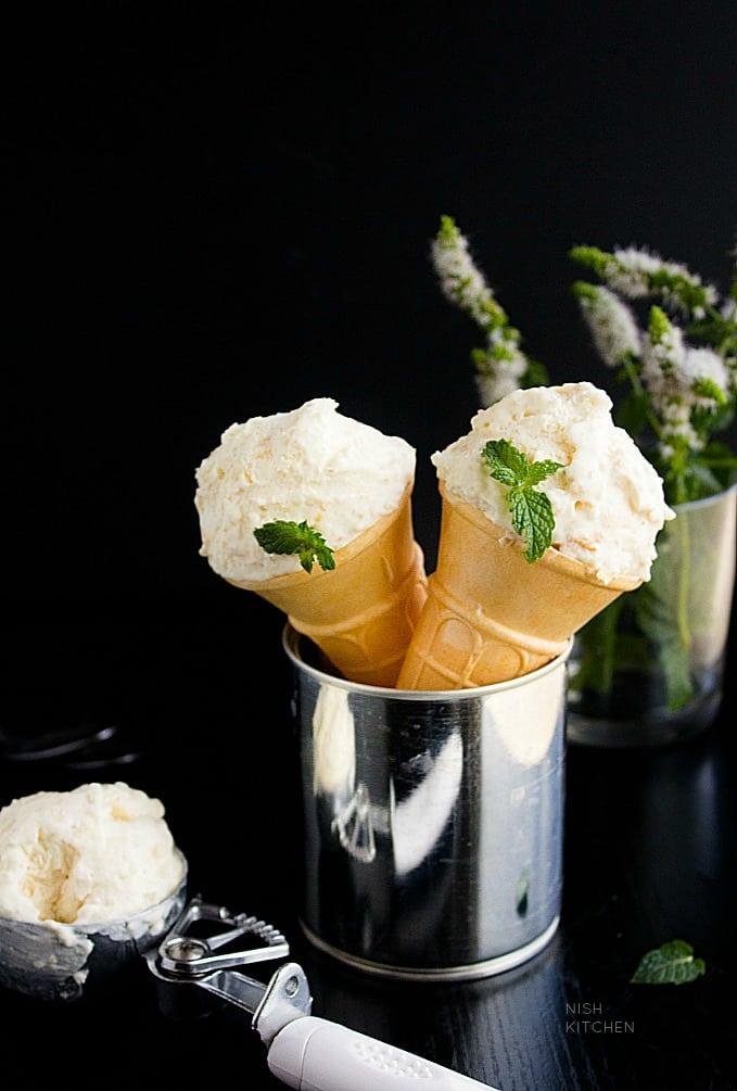 rabri ice cream video recipe