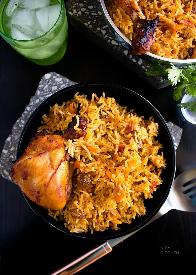 chicken kabsa arabian rice