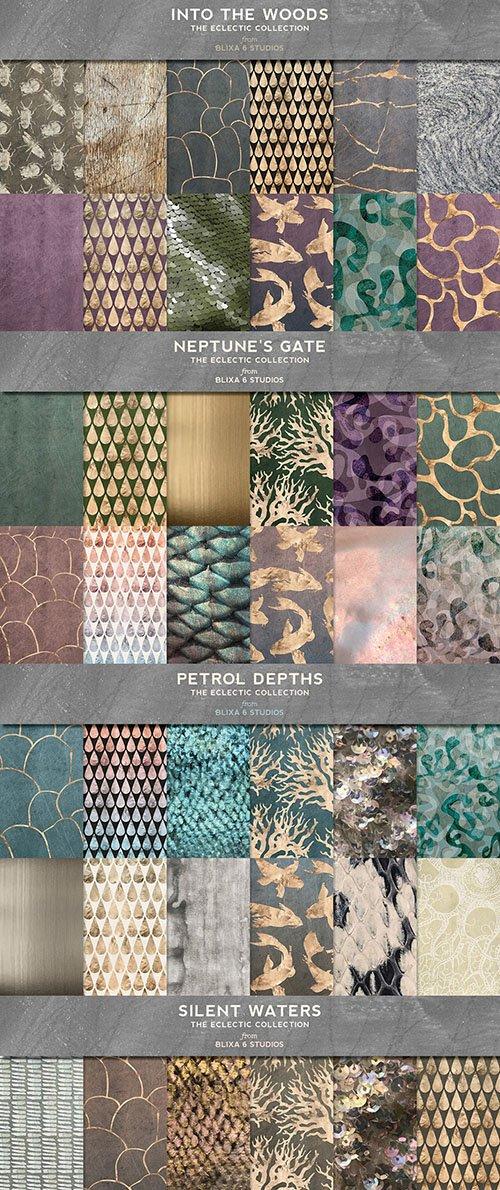 72 Natural Earth & Sea Graphics