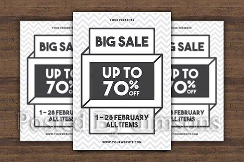 Big Sale Flyer PSD