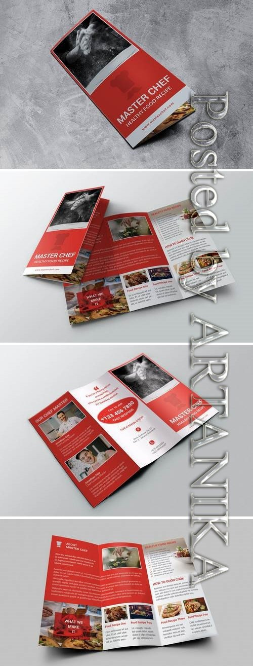 Trifold Food Brochure