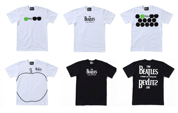 The-Beatles-x-Comme-des-Garcons-tees