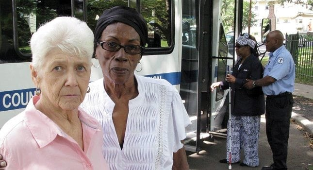 Many seniors depend on community transportation services to get them to healthcare facilities.