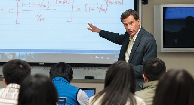 Prof. Anthony Loviscek, Stillman School of Business, Seton Hall University, teaches graduate students how to thrive as business professionals.