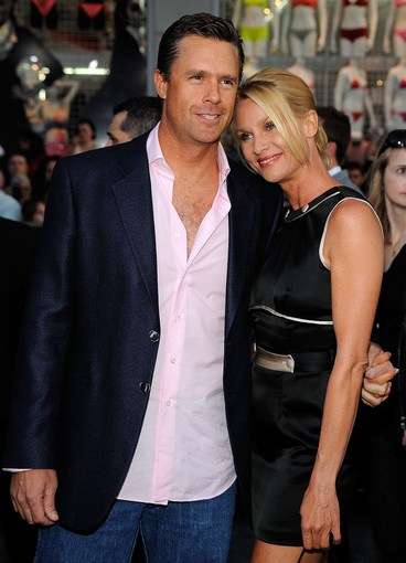 My cousin Steve Pate and Nicollette Sheridan at Star Trek premiere