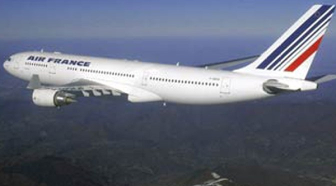 Airbus A330-200 similar to the Air France plane which vanished from radar after leaving Rio de Janeiro in Brazil on route to Paris.