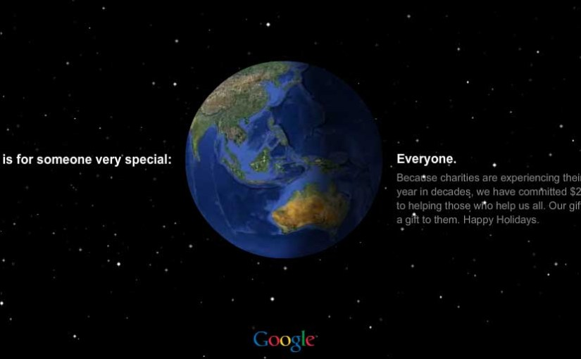 Google donates $20 million to charity