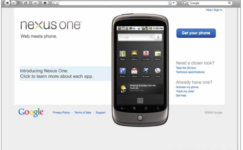 Leaked Google Nexus One Phone to Launch Jan 5th