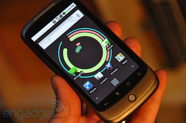 Engadget has preview of Google Nexus One with video