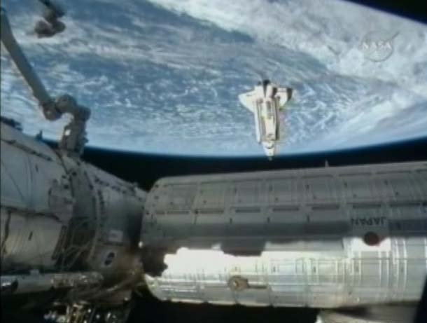 Endeavour Day 3 Starts with Docking at ISS