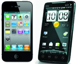 iPhone 4 vs. Android no clear winner but choices abound