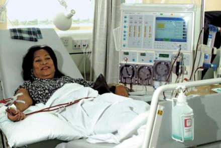 dialysis machine large In Dialysis, Life Saving Care at Great Risk and Cost photo