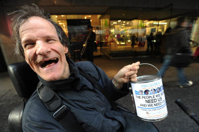 Man with disability raises $600K as street beggar