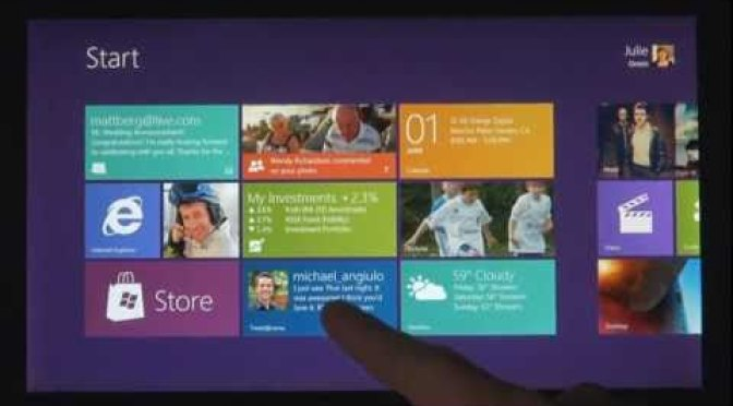 Windows 8 goes touch big time
