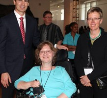 Ontario Premier Dalton McGuinty Tracy Odell, Director, APDD