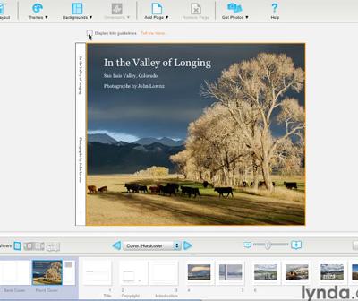 Lynda.com makes photo book production a breeze