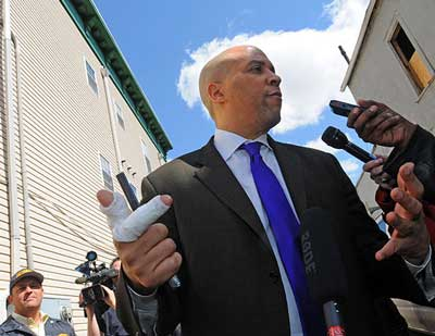 Cory Booker Superhero Mayor of Newark NJ