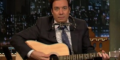 """Jingle Bells Batman Smells"" by Jimmy Fallon (NBC photo)"