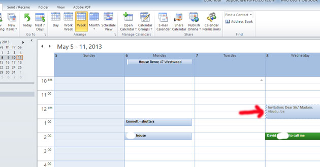 delete calendar in outlook how to get it back 2007