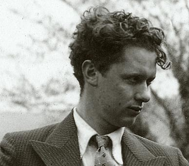 Dylan Thomas, the prototype for Bob Dylan