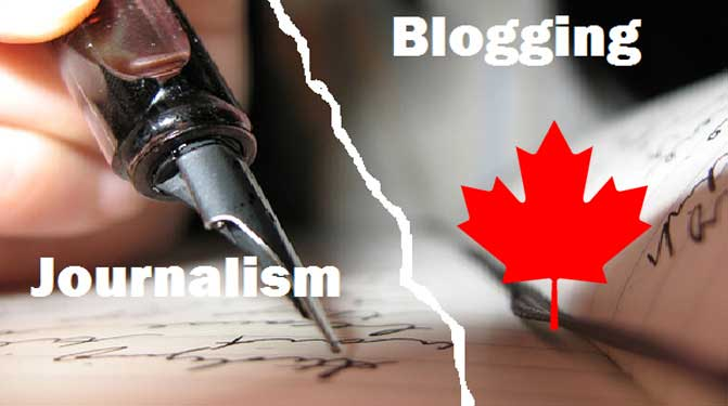Supreme Court of Canada: There are no journalists, only citizens