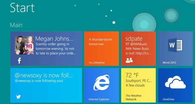 How to Take a Windows RT 8.1 Screenshot