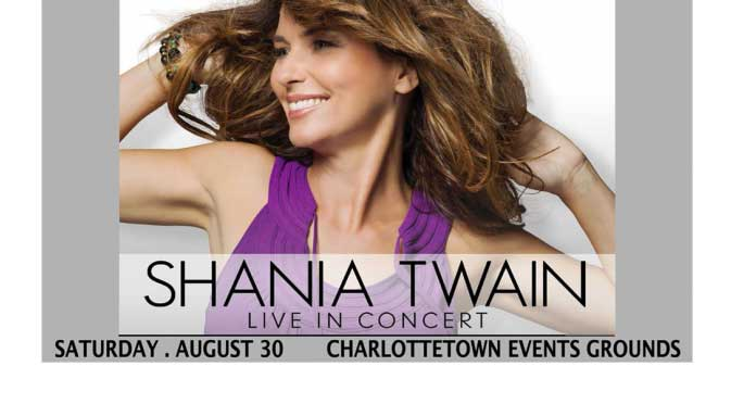 Shania Twain Ready for People With Disabilities on PEI