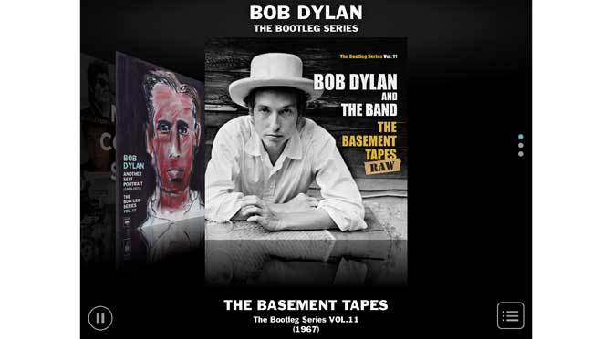 bob dylan bootleg app covers the basement tapes njn network