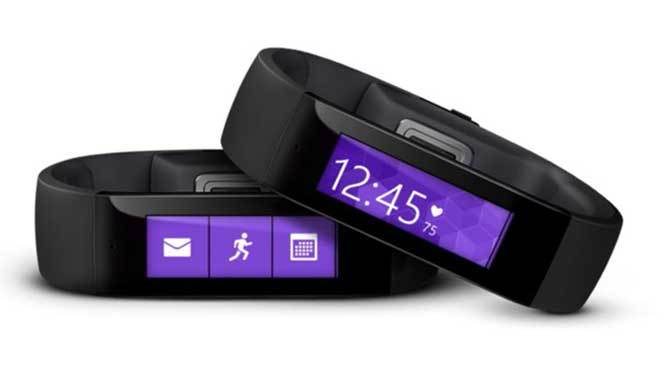 Microsoft Launches Band A Wearable With Health Benefits
