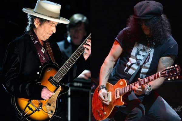 Slash Plays Lead on Dylan's Wiggle Wiggle