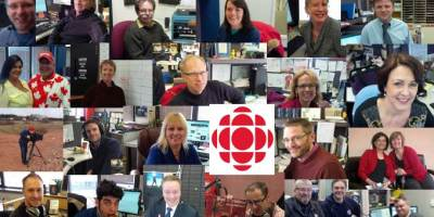 CBC Charlottetown 25 of the 90 people on staff