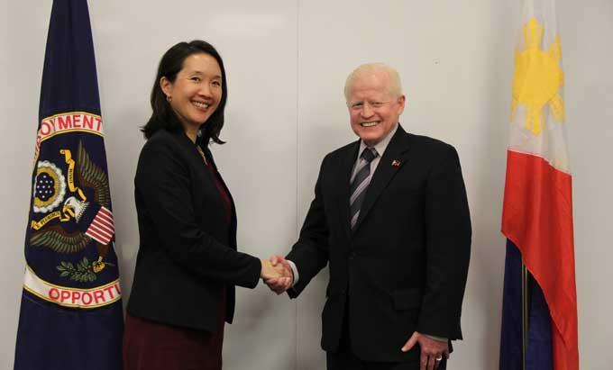 EEOC Signs National Memorandum of Understanding with Philippine Foreign Affairs Department