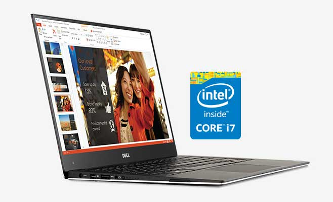 Super Dell XPS 13 with i7 and QHD+ Touchscreen Now Available