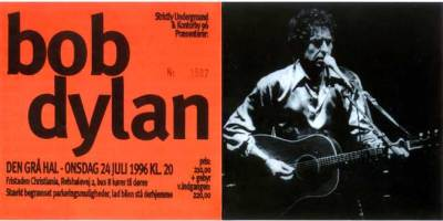 Bob Dylan in Denmark
