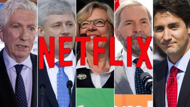 How To Solve The 11 Week Canadian Election With Netflix