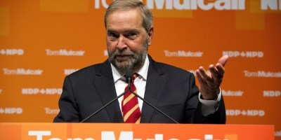 NDP leader Tom Mulcair THE CANADIAN PRESS/Galit Rodan